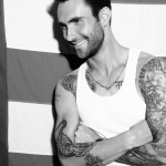 Adam Levine photographed for Out magazine. Photography by Yu Tsai.