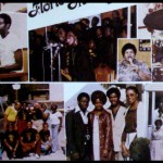 Photo collage of Florida Mass Choir assembled inside Florida Mass Choir's gatefold album cover of 'Jesus Will Never Say No' (1980)