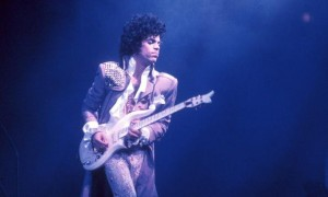 Prince performing in 1985.