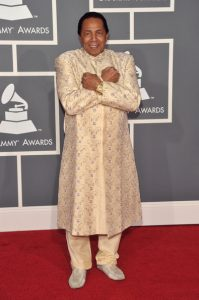 Sigler at the 51st annual Grammy Awards.
