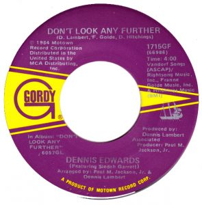 """Don't Look Any Further,"" Edwards's biggest solo hit, remains one of the greatest soul records of the 1980's."