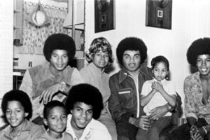 Jackson family portrait , circa 1970