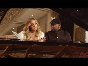 "Mariah Carey with ""Big Jim"" Wright"