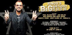 Ad for Ringo Starr's 80th Big Birthday Show