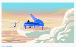 At the time of publication, the Google Doodle video was #6 on YouTube's Trending page.