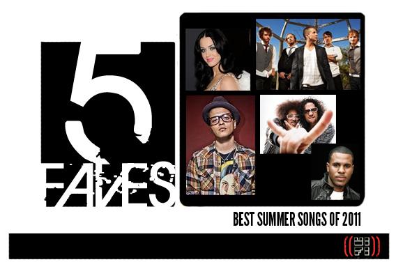 5faves-bestsummersongsof2011-header